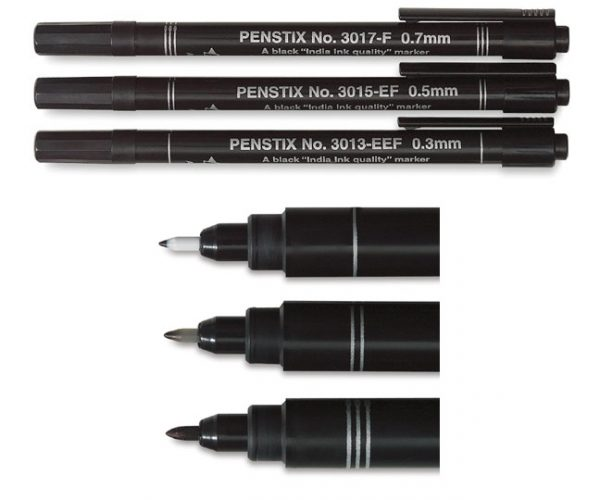PENSTIX DRAWING/SKETCHING PEN  (set 3) ALVIN