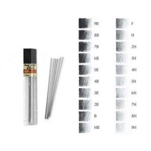 Lead 0.3mm (HB) Super Hi-Polymer (12)
