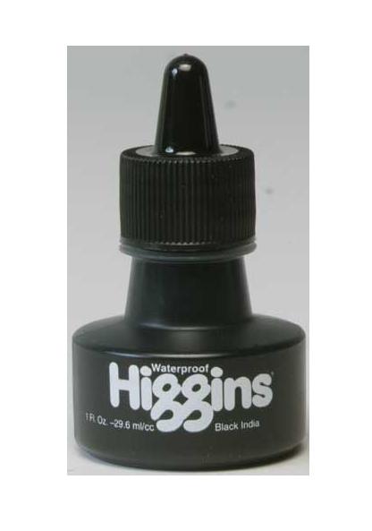 Ink India Black Higgins (1oz.) CH44201