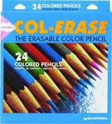 COL-ERASE PENCIL 24 COLOR SET