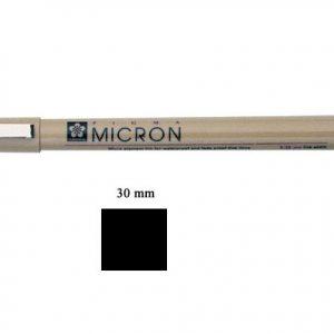 Pigma Micron  .30mm black