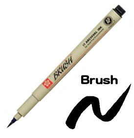 Pigma Brush Pen Black