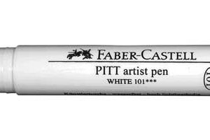 PITT BIG BRUSH PEN WHITE OPAQUE
