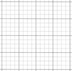 GRID PAPER 10x10 (17x22 )BLACK INK 100SH