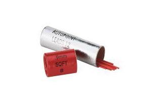Lead 0.9mm Red Soft - B (12)