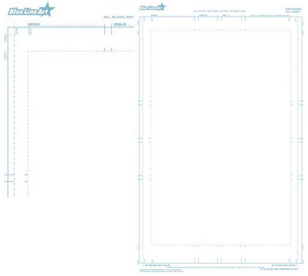 Small Comic Book Art boards 8 1/2 x 14 (400 3ply.SM) Bulk 50