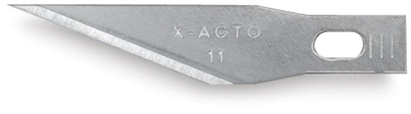 X-ACTO KNIFE REFILL BLADES#11 for #1 Knife (5)