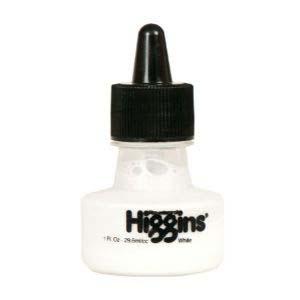 Ink White Warterproof Higgins 1oz