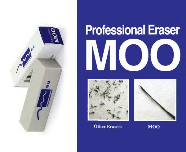 ERASER MOO PRO 39GR/MEDIUM
