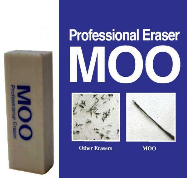 ERASER MOO Professional Artist Eraser - SM