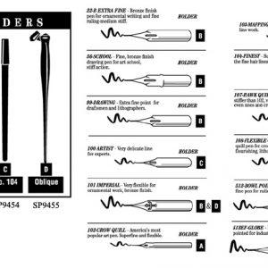 NIB Mapping Pen #103 (12)